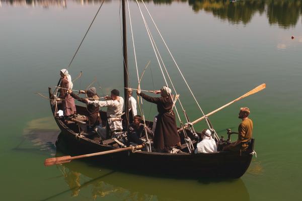 Фестиваль прадавніх човнів з успіхом відбувся у Рівному
