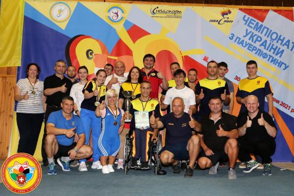 Спортсмени Рівненщини здобули перше командне місце у чемпіонаті України з пауерліфтингу