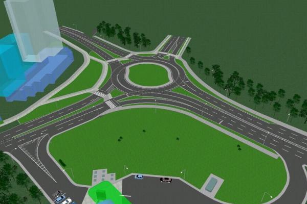 Олександр Третяк: ми розпочинаємо будівництво кільця на небезпечному перехресті Маркова-Дубенська