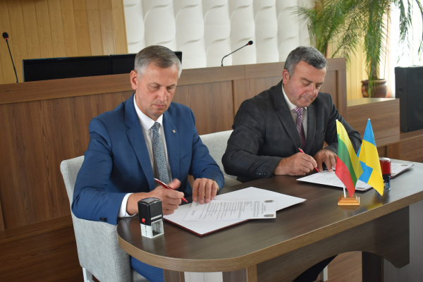 Дубно стало партнером литовського міста Рокишкіс