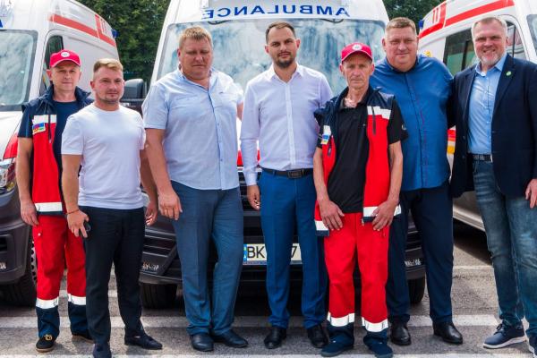 Рівненщина отримала від МОЗ 18 нових автомобілів «швидкої», - Олександр Ковальчук