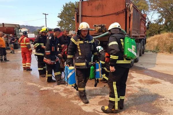 Рівненські пожежники рятують Грецію від вогню
