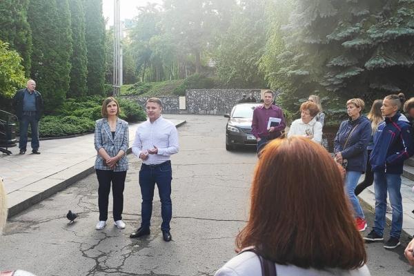Міський голова Рівного запевнив, що збереже музичну школу № 1 імені Миколи Лисенка