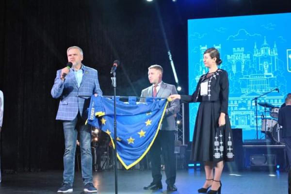 «Рівне отримало Почесний Прапор Ради Європи», - Олександр Ковальчук