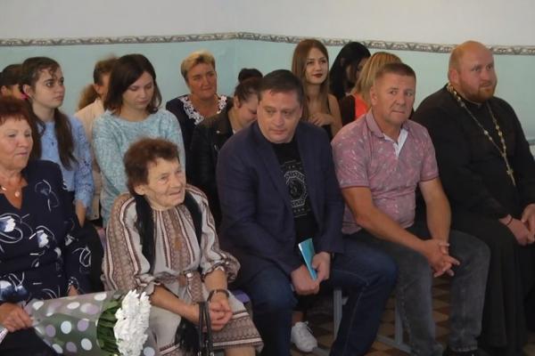 Ніну Савівну Буркалець з Бочаниці привітали односельці до Дня Незалежності України (ВІДЕО)