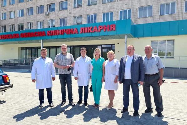 «Рівненська обласна клінічна лікарня отримає нове обладнання за майже 1,5 млн грн», - Олександр Ковальчук