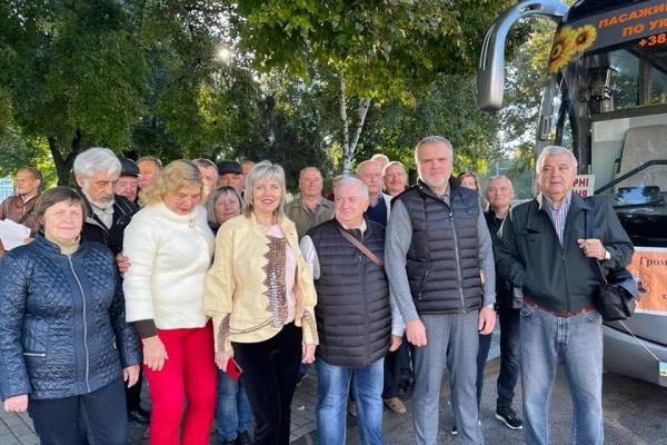 «Рівненські ветерани-чорнобильці відвідали з екскурсією Дубенський замок», - Олександр Ковальчук