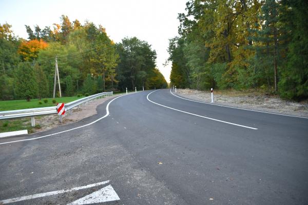 У Рокитнівській громаді відремонтували найгіршу дорогу