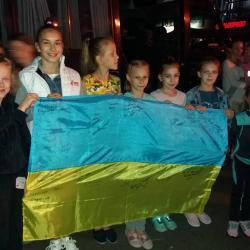 Рівненські гімнастки поїхали на Міжнародний турнір у Словаччину (Фото)