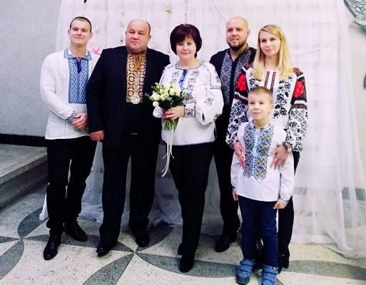 У Рівному подружжя відсвяткувало перлинне весілля