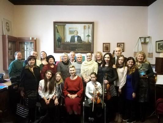 Рівненські письменники організували передріздвяну літературну зустріч