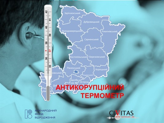 Антикорупційний термометр Рівненщини:  як поліклініки виконують запити на доступ до інформації