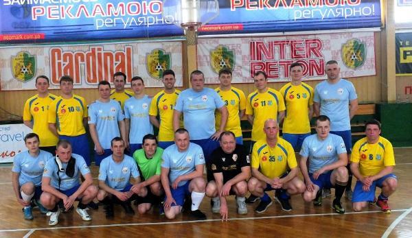 В Рівному грали в футбол команди Збройних Сил України та Великої Британії