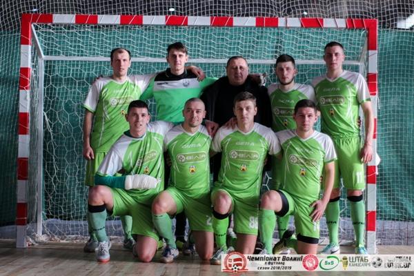 ФК «Вілія» з Млинова – чемпіон Волині