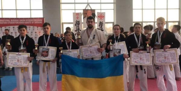 Рівненські каратисти здобули на Міжнародному турнірі