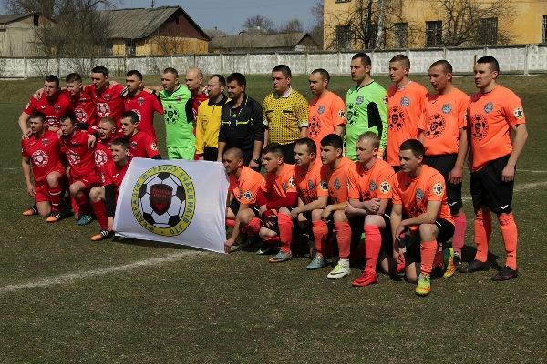 На Рівненщині відкрито груповий етап Чемпіонату з футболу серед команд Ліги учасників АТО