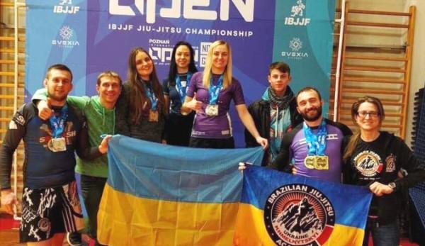 Рівненська спортсменка з джиу-джитсу завоювала в Польщі три нагороди