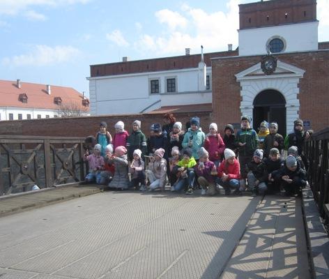 Як рівненські юні туристи в історичне Дубно подорожували