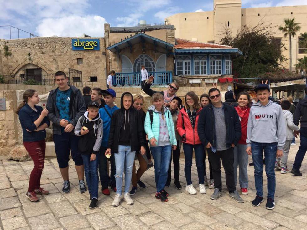 Острозькі підлітки відвідали Ізраїль