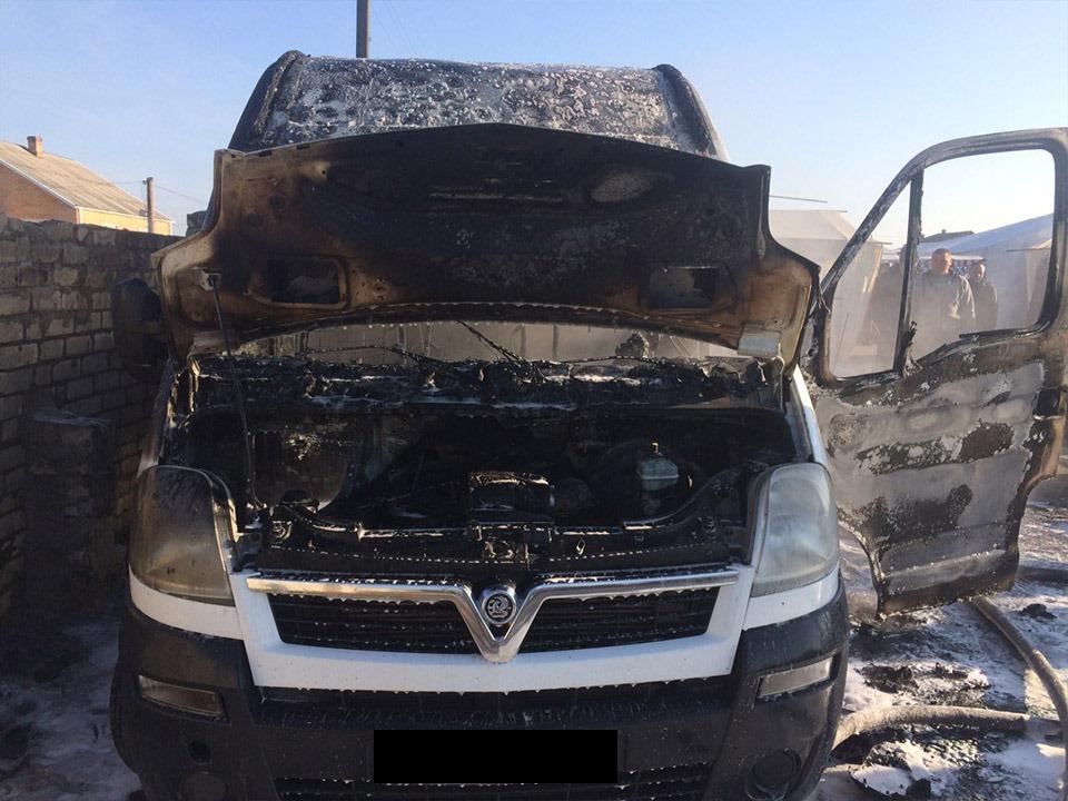 Рятувальники ліквідували автопожежу у Дубровиці