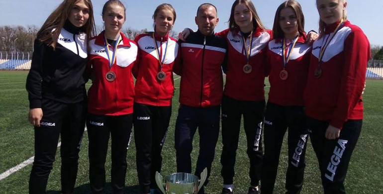 Костопільчанки здобули бронзу на Чемпіонаті України з футболу