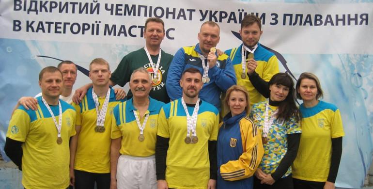 Рівненські спортсмени привезли 19 медалей з Чемпіонату України