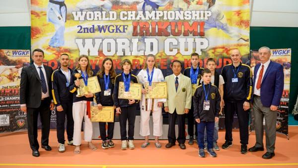 Тринадцять медалей виборов на світовому Чемпіонаті рівненський «Білий Лотос»