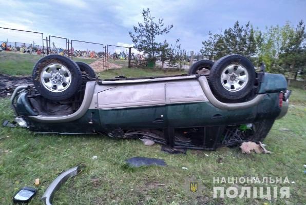 ДТП на Володимиреччині:  травмувалися водій та пасажир позашляховика