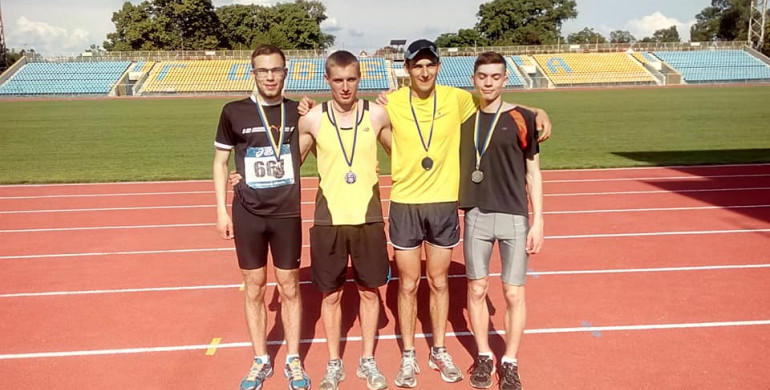 Легкоатлети з Рівненщини здобули срібло Чемпіонату України