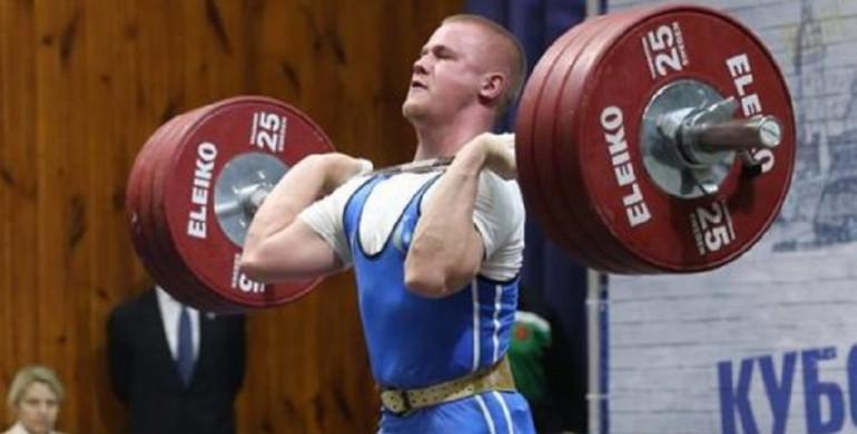 Рівненський важкоатлет став чемпіоном України