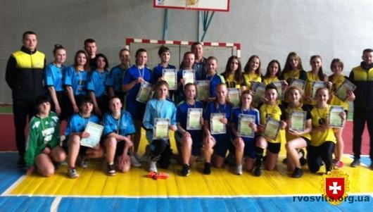 Кращі в футзалі на Рівненщині студентки з Дубна, Сарн та Рівного