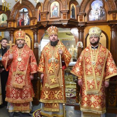 У Рівному був митрополит Епіфаній. Відбулося освячення храму великомучениці Катерини