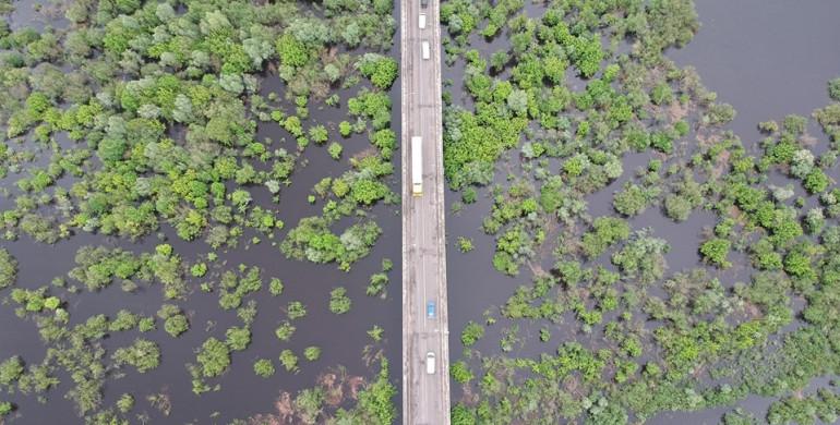 На Рівненщині річка Случ вийшла з берегів (ФОТО)