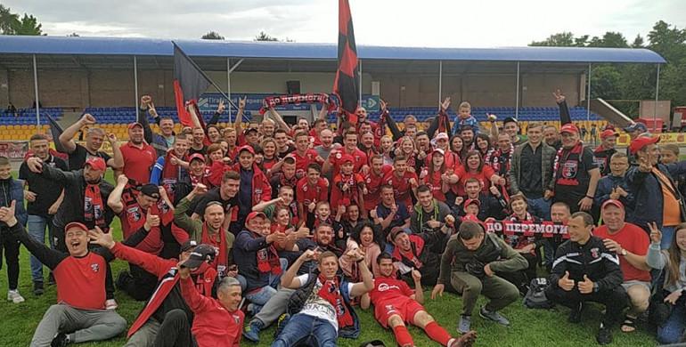 Рівненський «Верес» завершив сезон перемогою