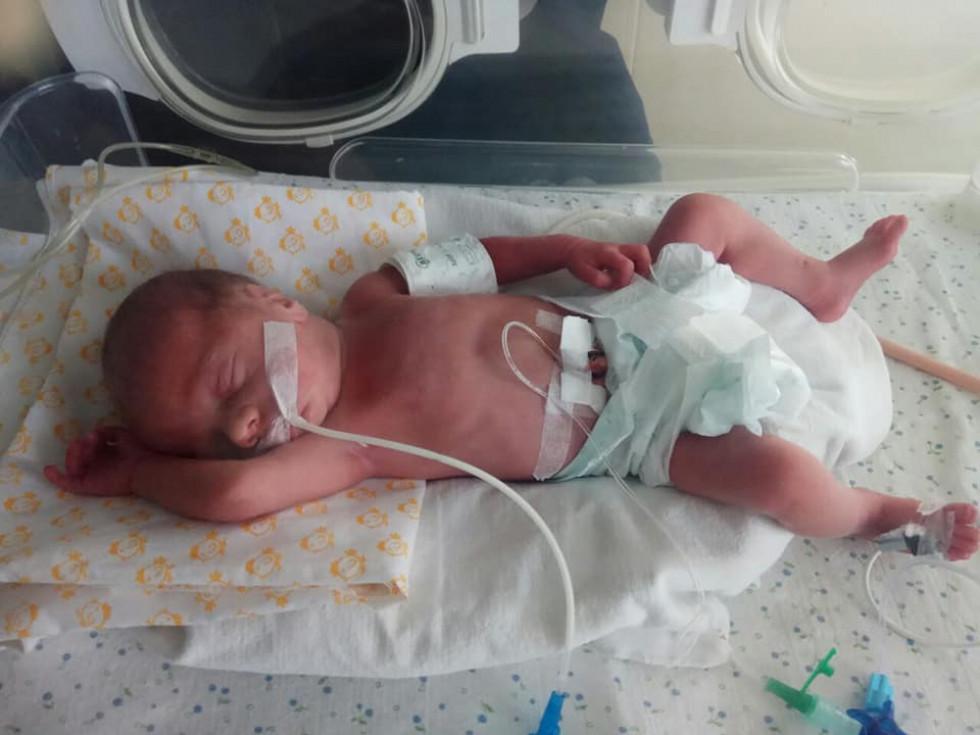 Родина з Острога потребує допомоги для лікування немовляти