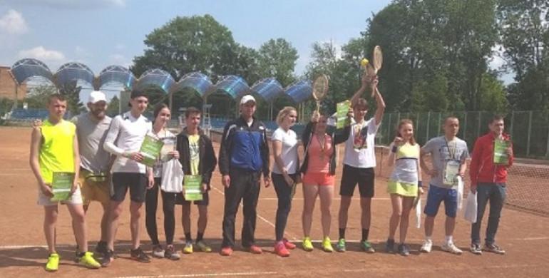 На Рівненщині відбувся всеукраїнський тенісний турнір