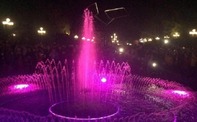 Графік роботи фонтанів Рівного на червень