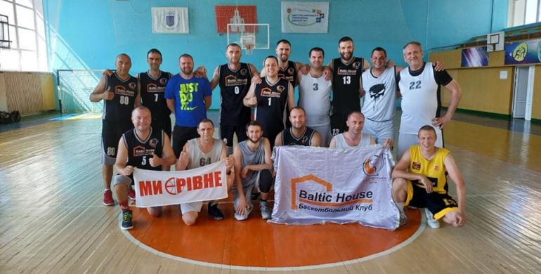 Рівненські баскетболісти-ветерани стали чемпіонами України