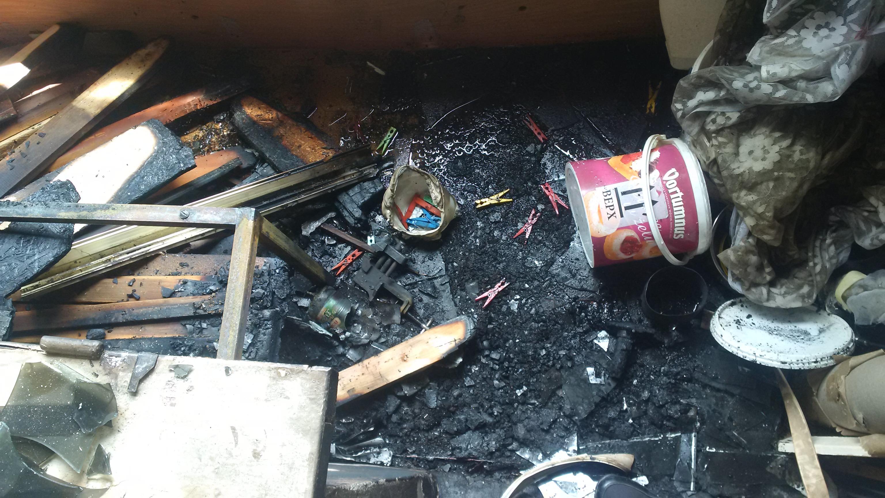 У Вараші вогнеборці ліквідували пожежу