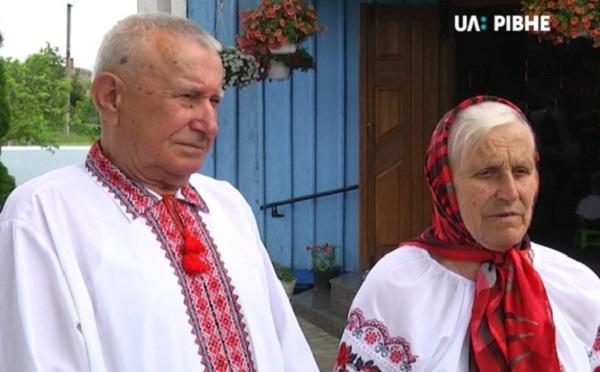 Подружжя із П'ятигорів на Здолбунівщині обвінчалося на 55-у річницю подружнього життя (ВІДЕО)