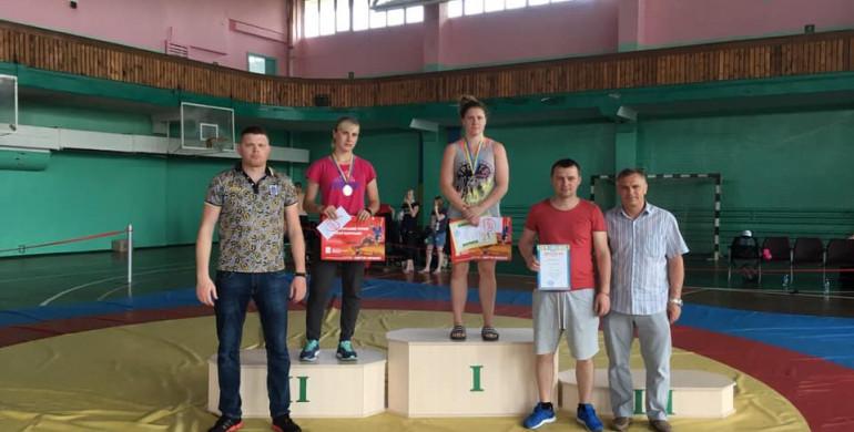 Рівненська борчиня здобула золото Всеукраїнського турніру