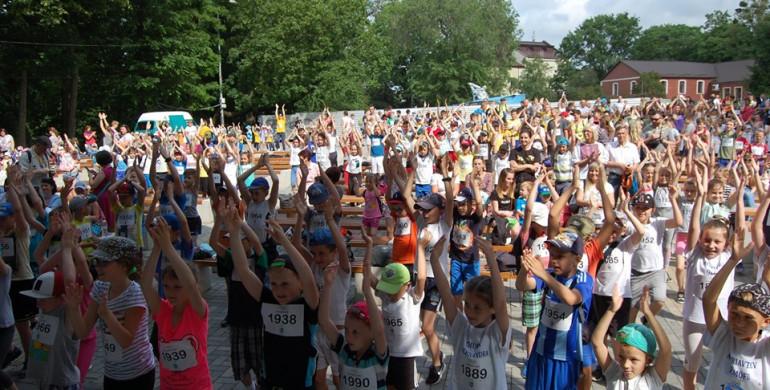 У Рівному «Олімпійський день» зібрав пів тисячі учасників