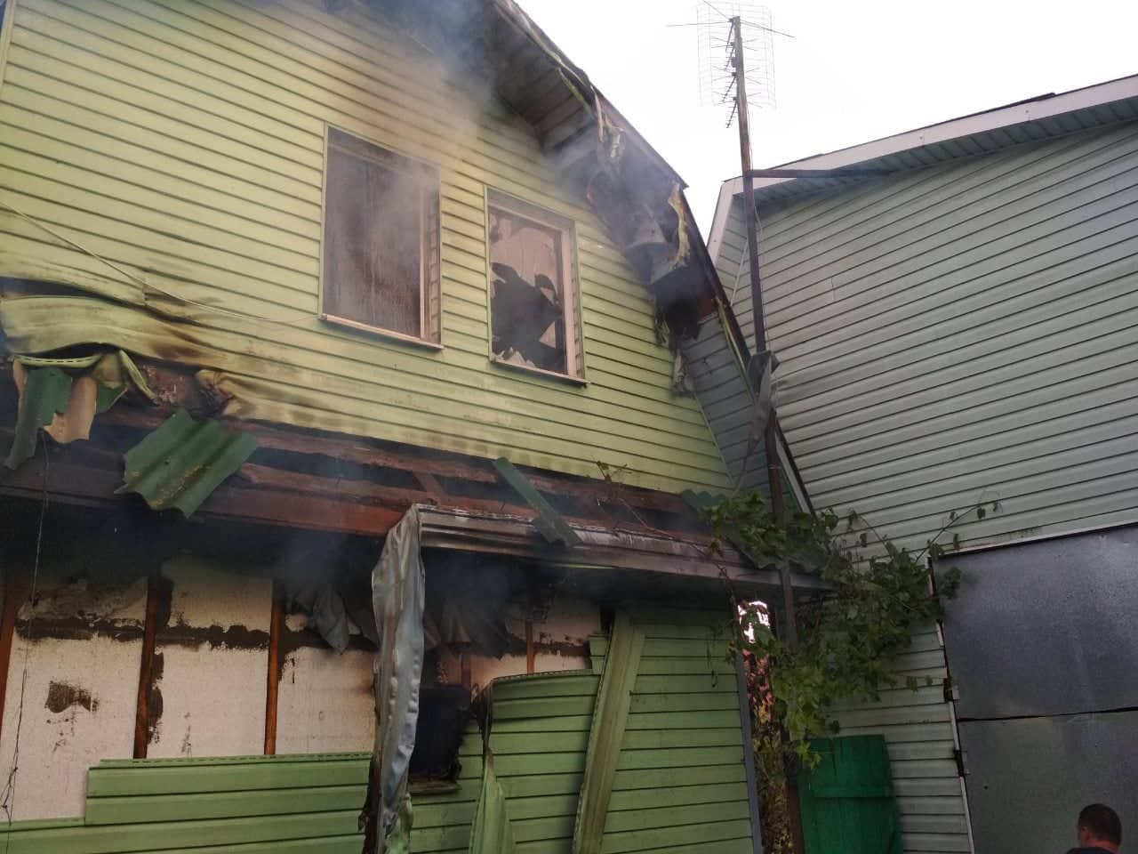 Костопільські вогнеборці ліквідували пожежу