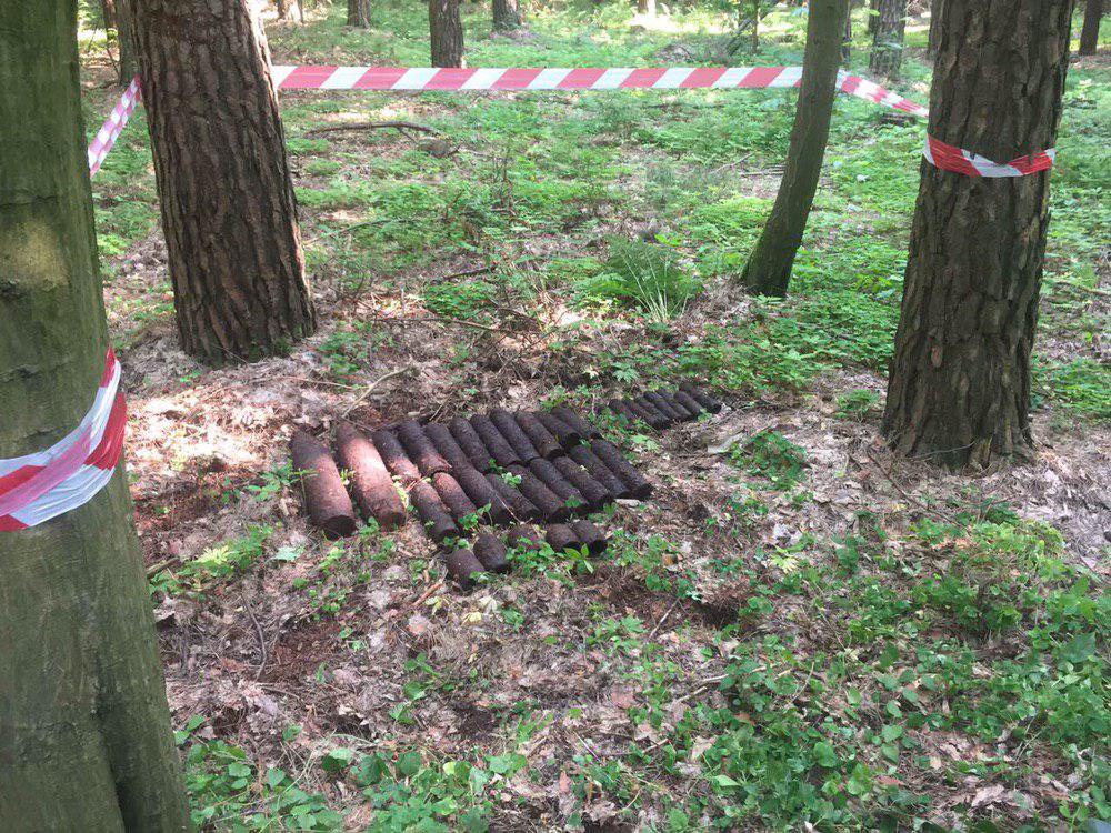 У Рівненському районі виявили 33 вибухонебезпечні предмети