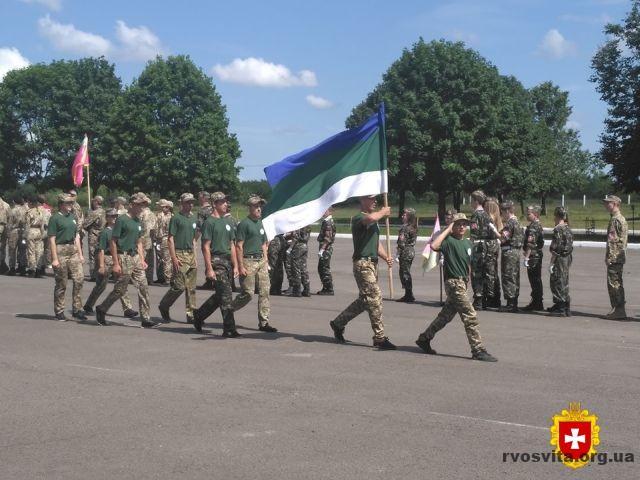 Військово-патріотична гра «Сокіл» (Джура) триває на рівненському полігоні