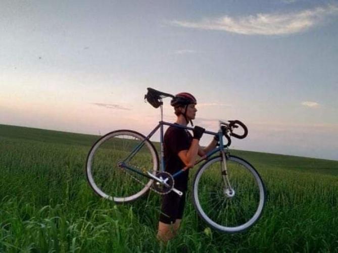 Корчанин подолав велосипедом 440 кілометрів