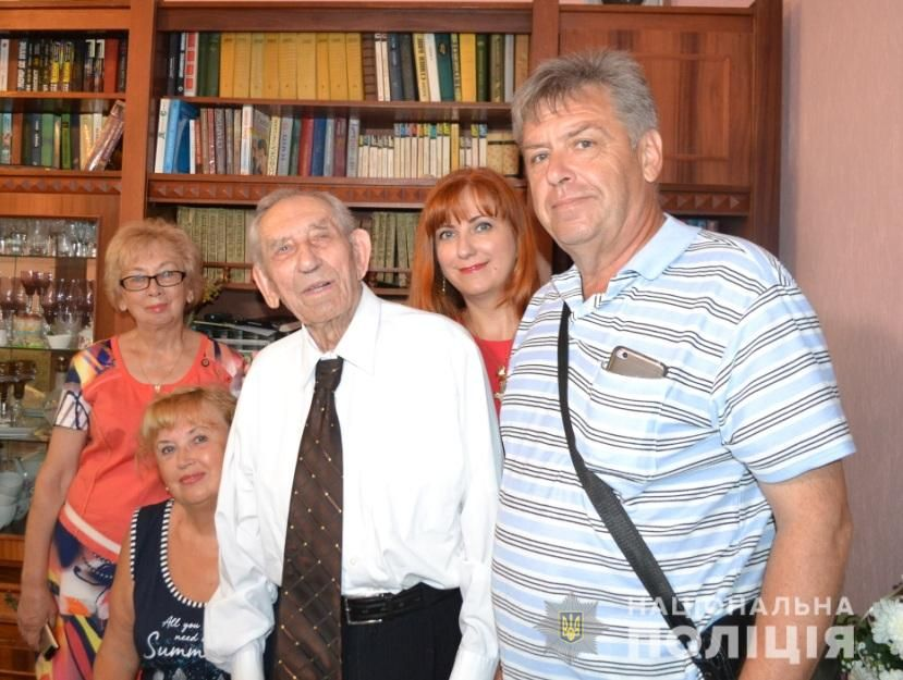 Рівненському ветерану органів внутрішніх справ виповнилось 105 років