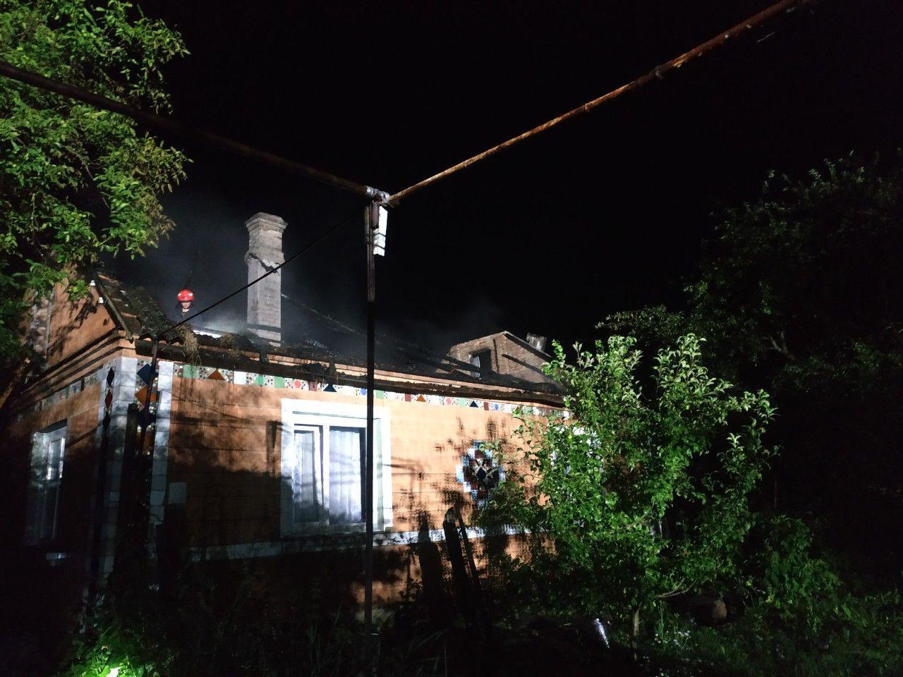 На Рівненщині вогнеборці ліквідували пожежу