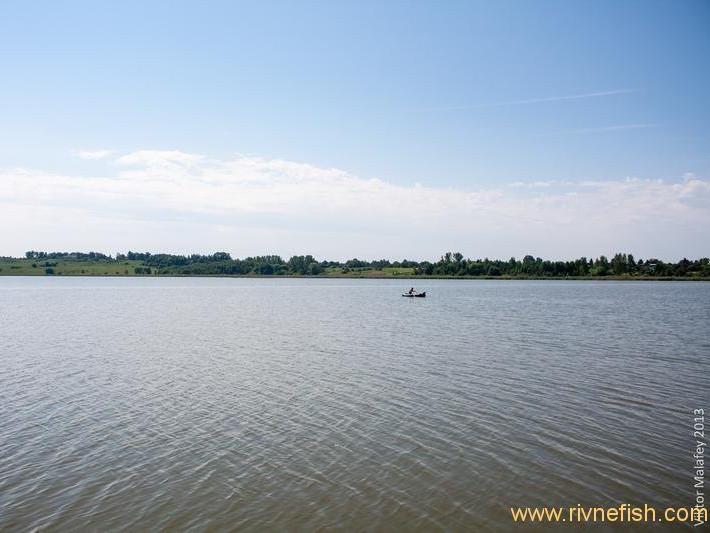 Водойма у Бочаниці - одне з кращих місць для купання на Рівненщині