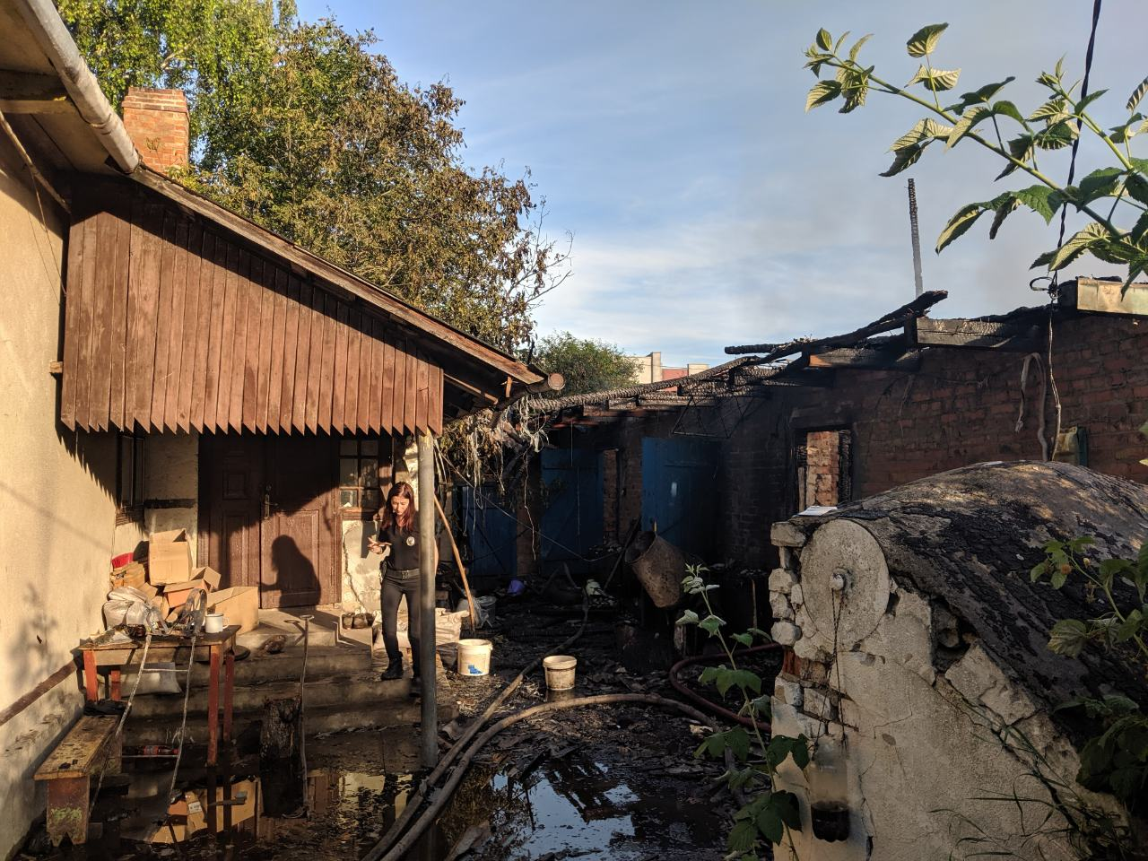 Внаслідок пожежі житель Рівненщини отримав опіки ІІ ступеня важкості